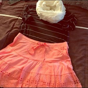 FINAL OFFER - NWT AERO EYELET SKIRT